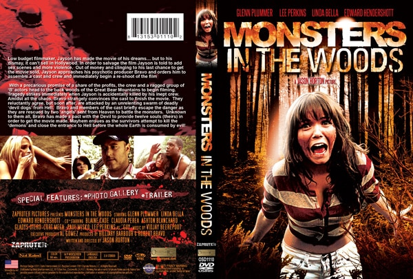 Monsters in the Woods DVD Cover Art