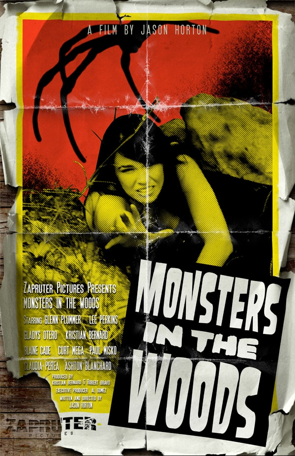 A New Poster for Monsters in the Woods