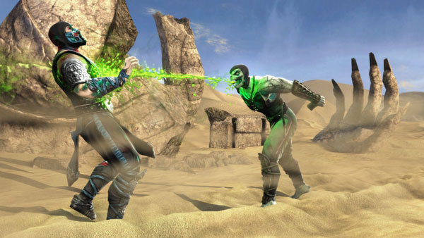 First Look at Scorpion in Mortal Kombat Web Series; Mortal Kombat Demo Coming to XBox Live and PSN!