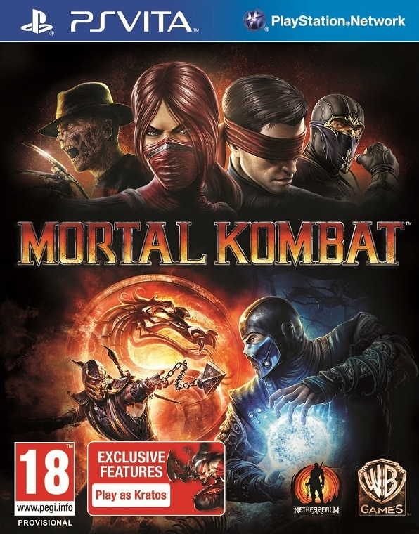 Perform Fatalities on the Go with Mortal Kombat for PlayStation Vita