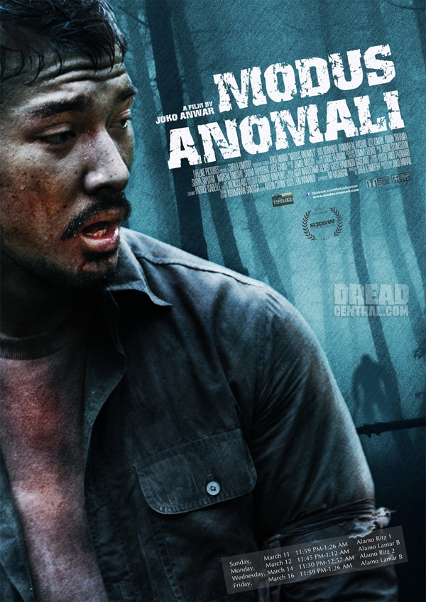 SXSW 2012: New One-Sheet and Clip for Modus Anomali