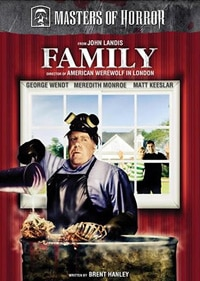Masters of Horror:  Family DVD (click for larger image)
