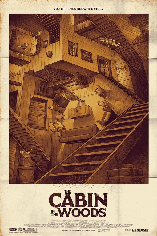 The Cabin in the Woods - Mondo Style