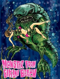 Monster from Bikini Beach!
