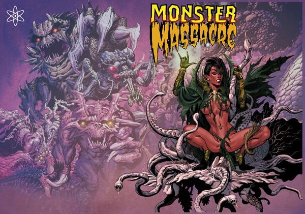 Titan Comics Launching Monster Massacre Anthology Series This Fall