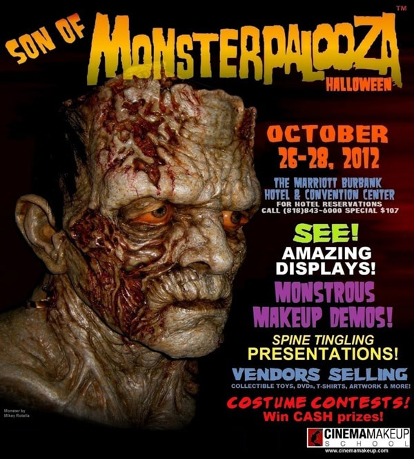 Son of Monsterpalooza Festival Planned for October 26-28 in Burbank