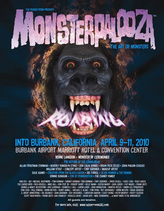 Monsterpalooza Invades Burbank April 9-11, 2010