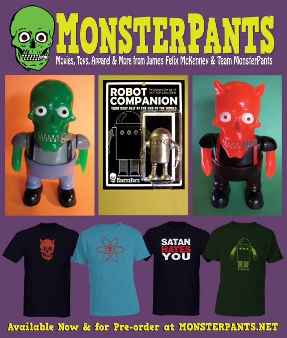 MonsterPants Announces New Ten-Part Online Serial to Begin with Chapter Four