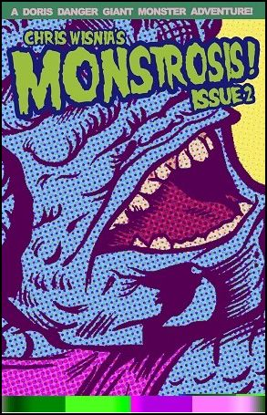 First Two Issues of Digital Download Comic Monstrosis Now Available