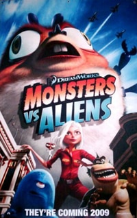 Monsters Vs. Aliens featurette!