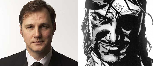 The Walking Dead Finds Its Governor - David Morrissey
