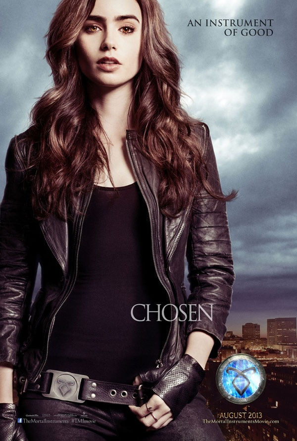 mortal instruments city of bones cp1 - Two New Character Posters for The Mortal Instruments: City of Bones Get Up Close and Personal