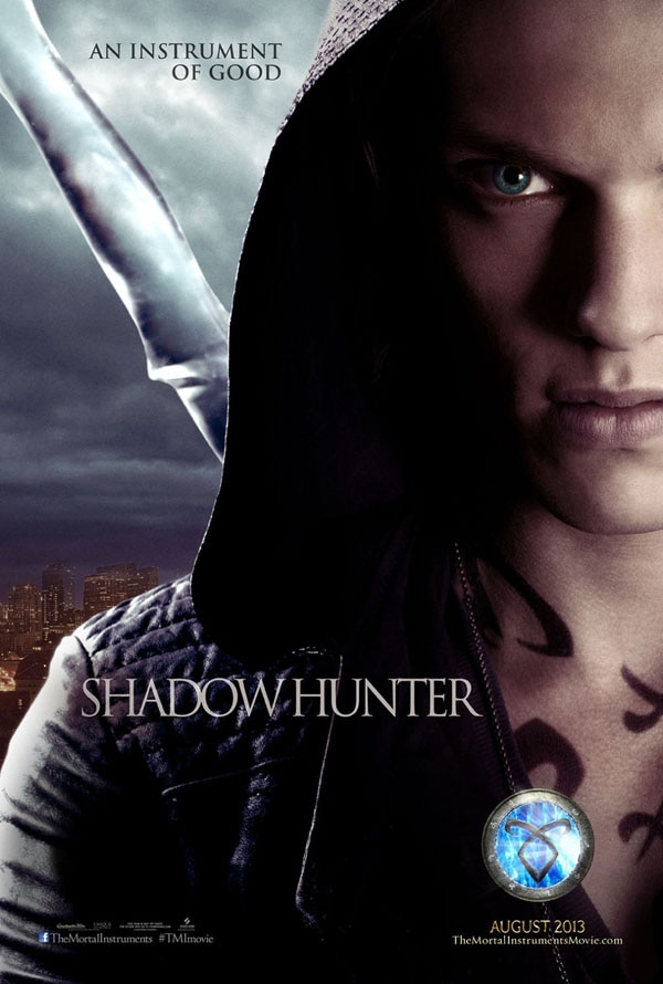 mortal instruments city of bones cp2 - Two New Character Posters for The Mortal Instruments: City of Bones Get Up Close and Personal