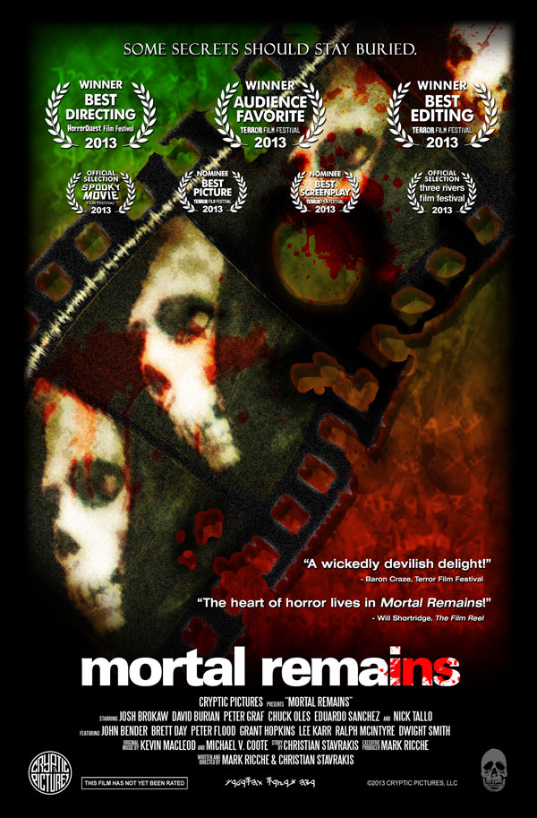 mortalremainsnew - Mortal Remains to Screen in NYC and at Bizarre AC II in Atlantic City