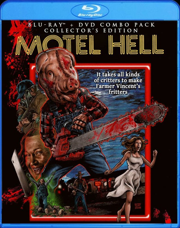motel hell blu ray - Check Into The Scream Factory's Motel Hell Artwork