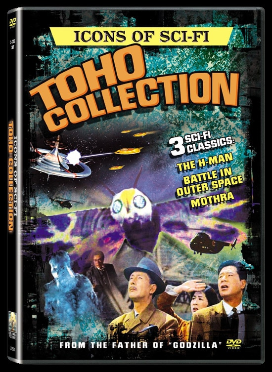 Cover Art and Stills from Sonys Upcoming  Icons of Sci-Fi: Toho