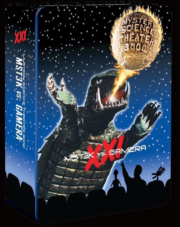 Shout! Factory Next Mystery Science Theater 3000 DVD Set is All Gamera