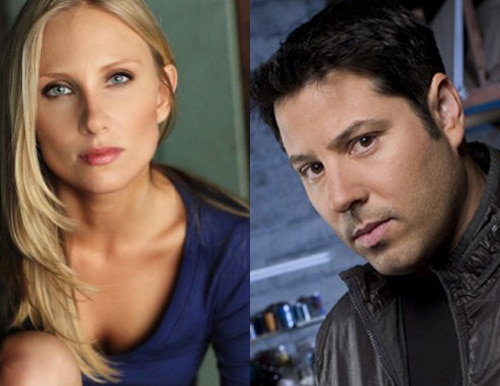 A Hottie and a Hero Taking on Mike Mendez's Mega Spider - Alexis Peters and Greg Grunberg Join Cast