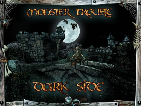 mtds - Monster Trouble: Dark Side Now Available for iOS Devices