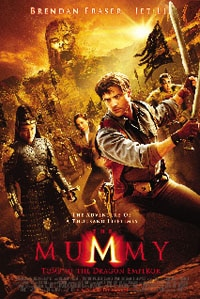 The Mummy 3 international poster, so much better than ours!