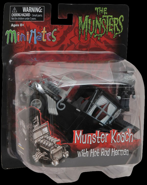 munstermini - The Munsters Get Moving in New Minimates Koaches from Diamond Select
