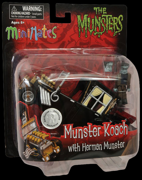 munstermini1 - The Munsters Get Moving in New Minimates Koaches from Diamond Select