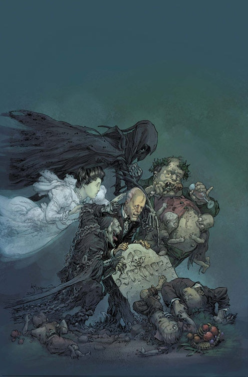 Christmas Comes Early This Year with Marvel Zombies Christmas Carol