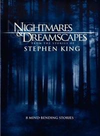 Nightmares & Dreamscapes DVD (click for larger image)