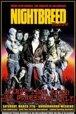Update on Nightbreed Uncut -- Morgan Creek Listening to Fans?