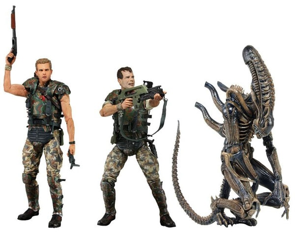 NECA's New Aliens Collectibles Feature Hicks, Hudson, and the Xenomorph Warrior