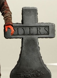 A piece of the new Michael Myers figure from NECA (click to see the whole thing!