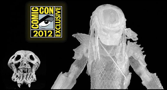 San Diego Comic-Con 2012: NECA Reveals Three SDCC Exclusives - Cloaked City Hunter Predator