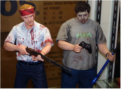 NECA's Shaun of the Dead set