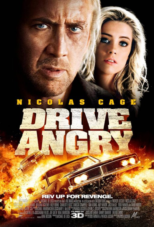 Get Head from Latest Drive Angry Poster