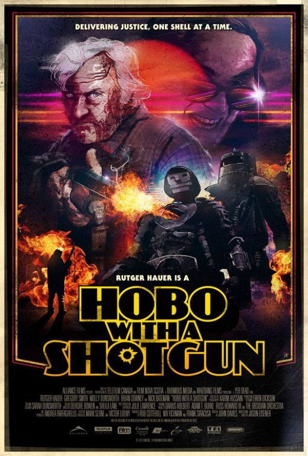 New One-Sheet, Trailer, and Featurette: Hobo With a Shotgun