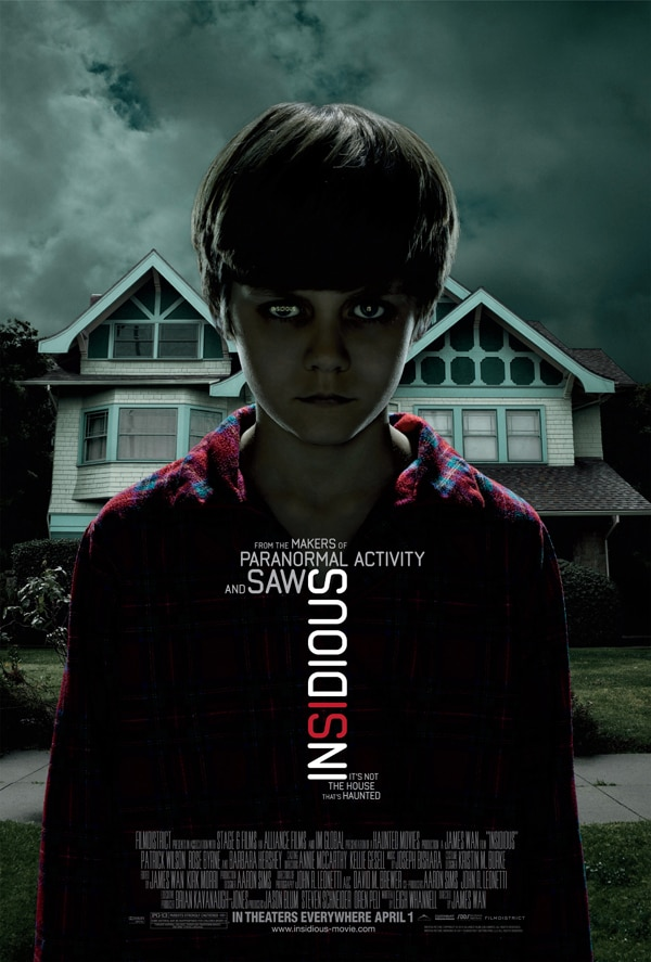 Nationwide Insidious Sneak Previews Taking Place April 29th; Find a City Near You!