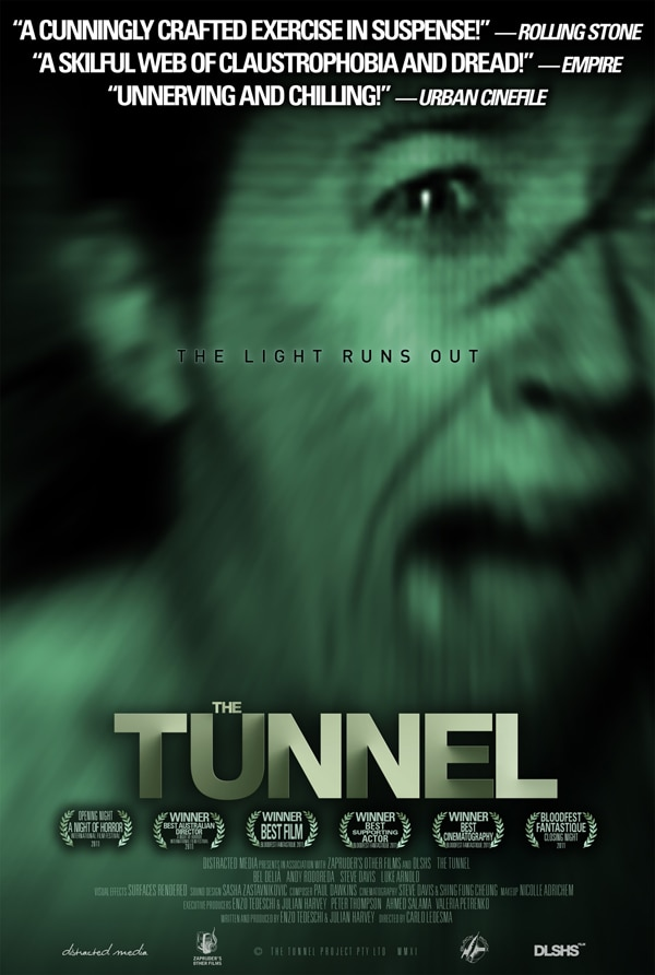 The Tunnel Goes Theatrical ... In Canada! New One-Sheet Debut!