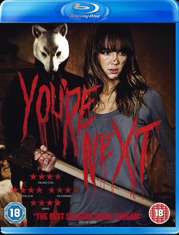 next uk - UK DVD and Blu-ray Told: You're Next!