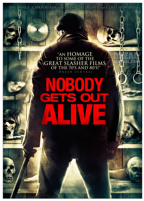 Exclusive Artwork Premiere - Nobody Gets Out Alive