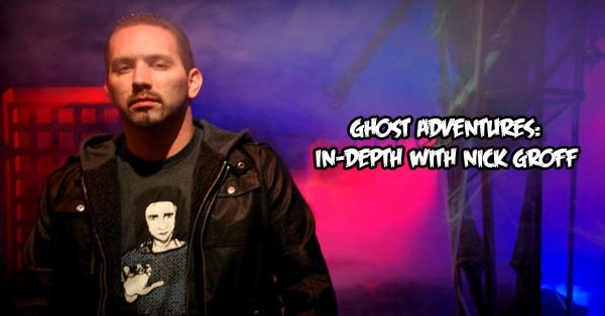 Nick Groff Talks Ghost Adventures Part 1: In the Beginning