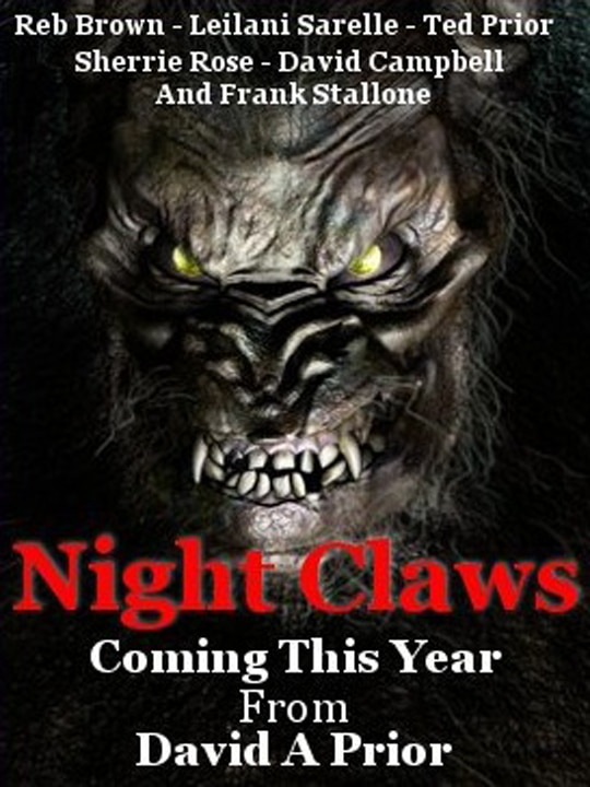 Night Claws Scratches Out a Teaser and Official Site