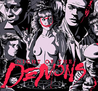 25th Anniversary Night of the Demons Glow-in-the-Dark Screenprint Available TODAY!