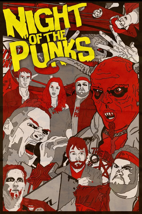 Watch the Horror-Comedy Night of the Punks Short Film Now!