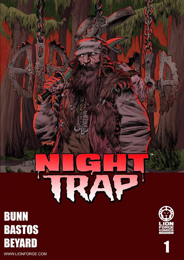 Cullen Bunn's Night Trap Brings Horror to the Lion Forge Universe