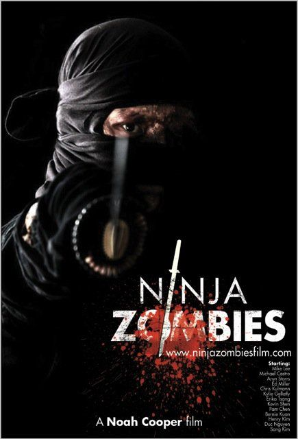 Ninja Zombies Looking to Make Sushi Out of YOU!