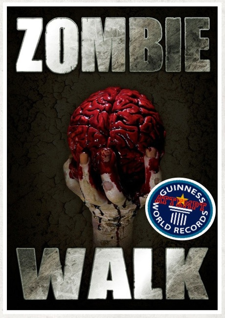 Calling All Zombies to the Asbury Park, NJ, Zombie Walk!