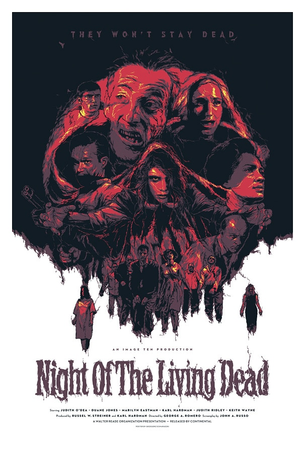 Horror History: Feast Your Eyes on the Invite for the Premiere of the Original Night of the Living Dead