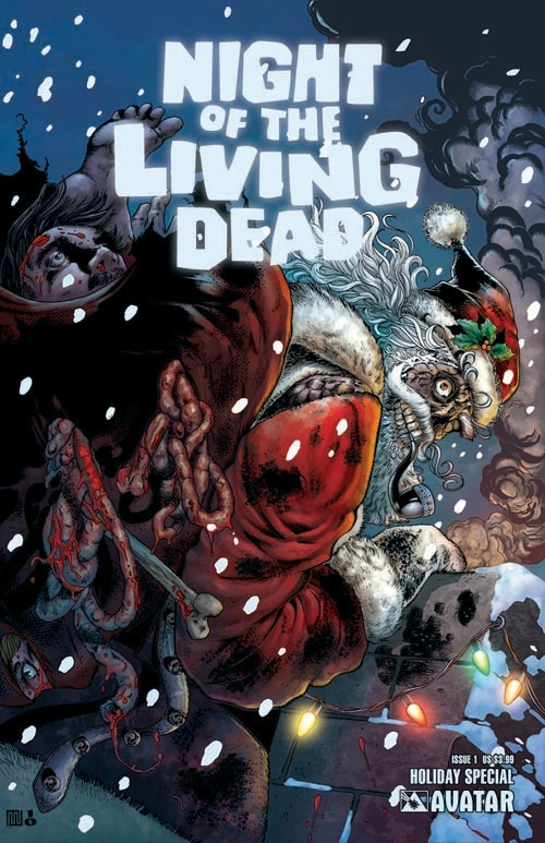 Avatar Press Celebrates the Holiday Season with a Zombie Outbreak and A Small Killing