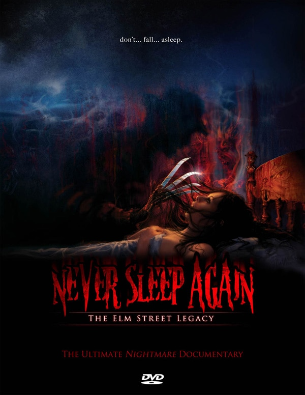 Never Sleep Again: The Elm Street Legacy DVD Art  (click for larger image)