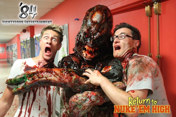 Troma Premieres Official Return to Nuke Em High One-Sheet and Gore-Soaked Stills